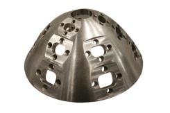 Formfrästeil aus Stahl in einem Stück gefertigt