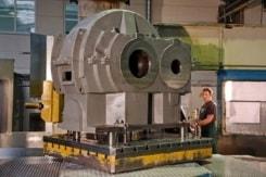 Grossteilebearbeitung mit einem sicheren Handling der gefertigten Teile