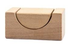 Holzfrästeil aus Buche in der Ansicht