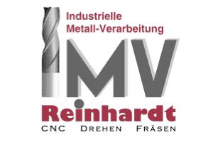 Logo des Fräsbetriebes IMV-Reinhardt aus Großseibstadt