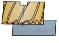 Walzenfräser als Vollfräswerkzeug