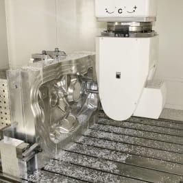 5-Achsen-Fräsbearbeitung für dreidimensionale Frästeile