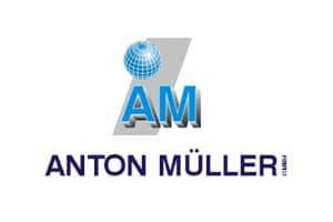 Firmenlogo mit Schriftzug der Anton Müller GmbH