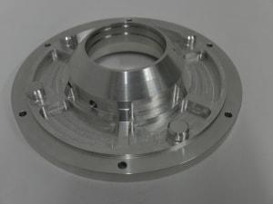Gefräster Flansch von der B&S Zerspantechnik GmbH