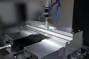 CNC-Fertigung von Aluminium für den Maschinenbau