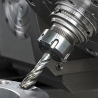 Fräs- und Bohrbearbeitung mit CNC-gesteuerter Technik