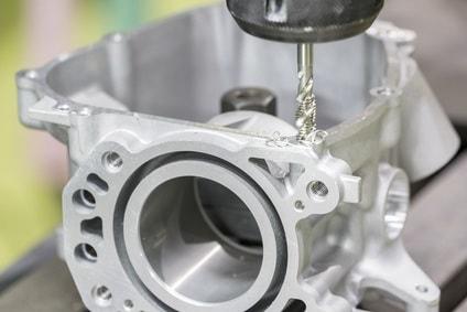 Gebohrte Frästeile von der Geiger Sondermaschinenbau GmbH