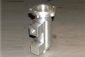 5-Achsen-Frästeil der TM Metallbearbeitung GmbH