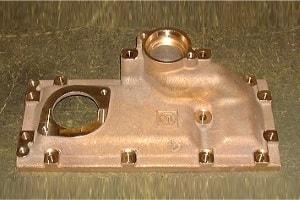 Messing-Fräsen für Bauteile als Motorengehäuse
