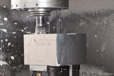 Fräsen von Aluminium bei der Spitzl Fertigungs GmbH