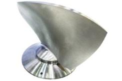 3D-Formfräsen von schwierigen Metallkonturen
