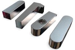 Endbearbeitete CNC-Frästeile mit einem perfekten Oberflächen-Finish