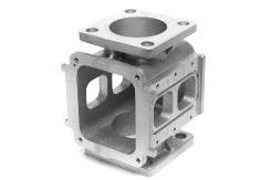 5-Achsen-Fräsen von Aluminiumzylindern für die Hydraulikindustrie