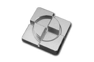 Darstellung eines 5-Achsen-Frästeils mit 3D-Konturen
